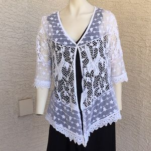 Lace Look Coverup